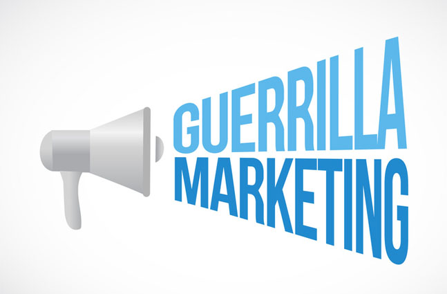 Guerilla Marketing - creative, legal and yet different
